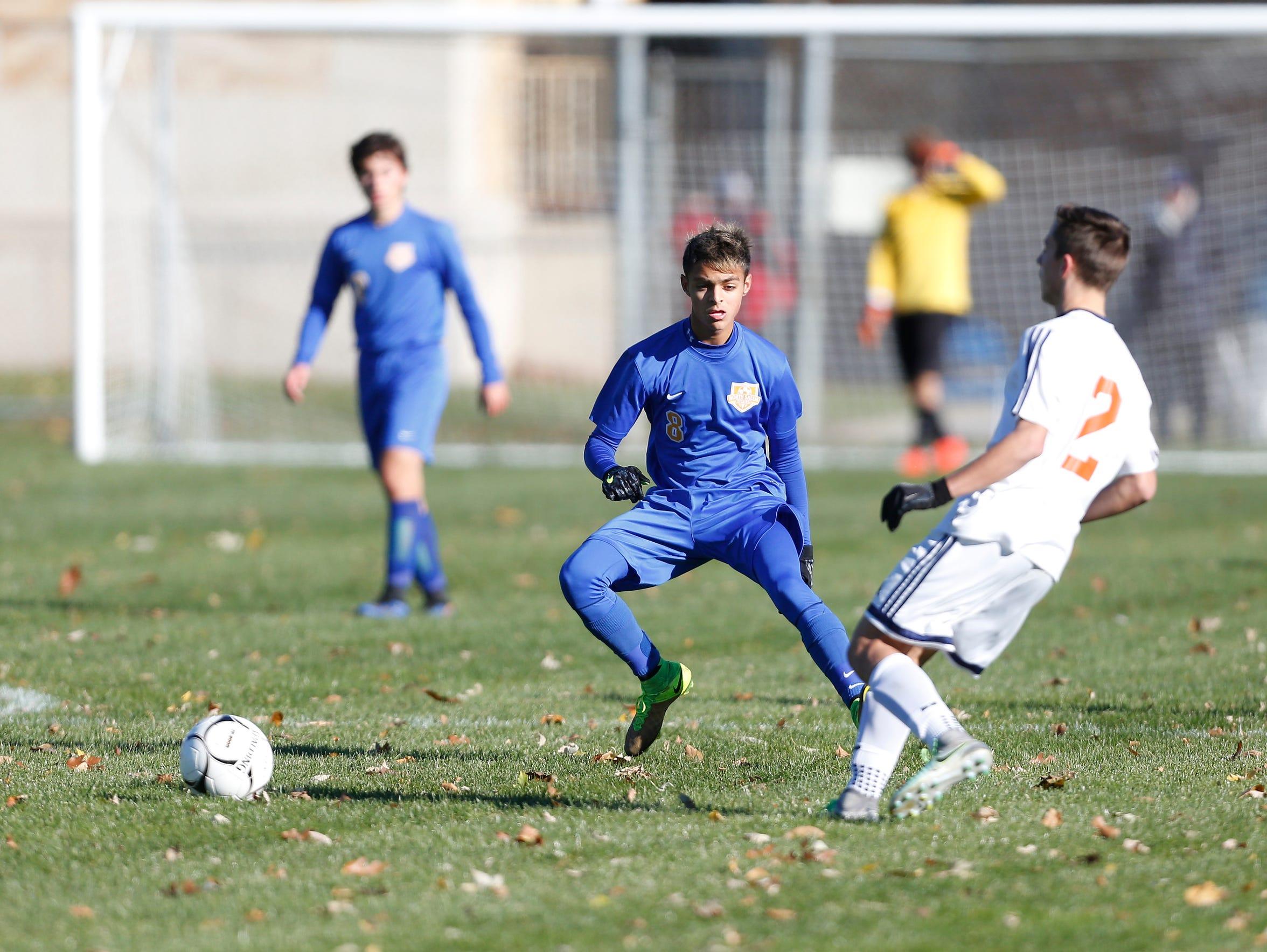 North Salem defeats Potsdam 7-0 in the Class C boys