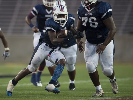 HS Football: Park Crossing Vs. Jeff Davis