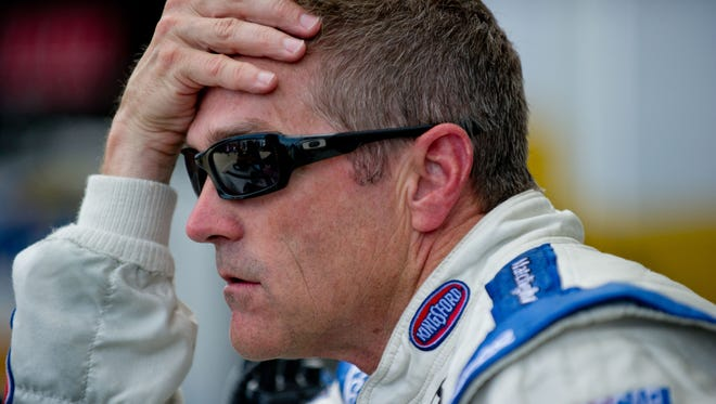 Bobby Labonte broke three ribs in a bicycle accident.
