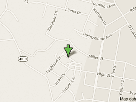 The incident occurred on Highland Drive in Hamilton Township, according to police.