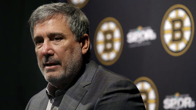 Boston Bruins president Cam Neely was unhappy that his team lost the No. 1 seed with the revamped playoff setup.