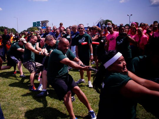 The MAX Challenge's third annual MAX Olympics conducted at iPlay America.