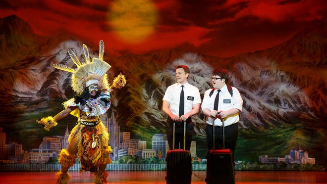 """""""The Book of Mormon"""" opens Tuesday and continues through Sept. 21 at the Fox Cities Performing Arts Center in Appleton."""