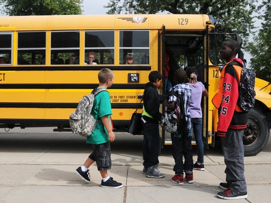 Bus plan can get kids to classrooms