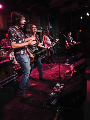 Local band Coyote Union performs recently in Fayetteville.