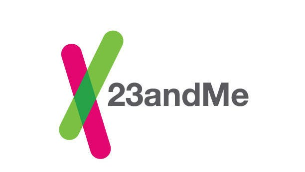 This image provided by 23andMe shows the company's logo.