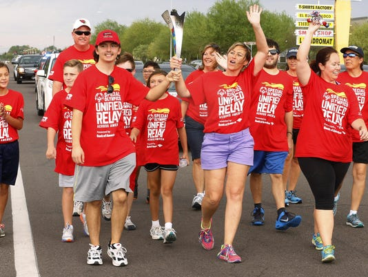 PNI Special Olympics Torch