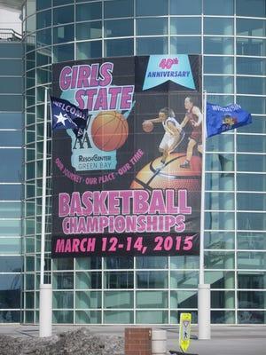 The Resch Center will host the WIAA Girls State Basketball Tournament March 12-14, 2015.