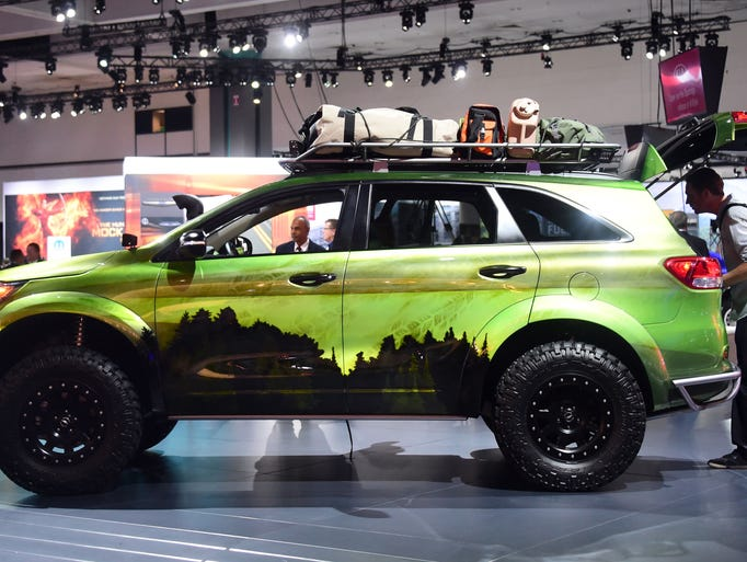 Beautiful  Shown At The Los Angeles Auto Show Frederic J Brown Afp Getty Images