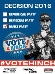 James Hinchcliffe will be on Dancing With The Stars