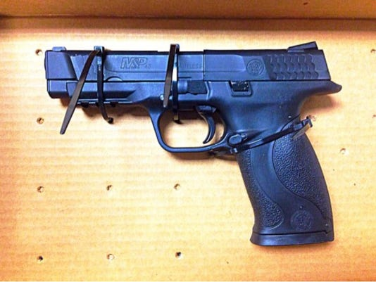 Sby police recovered gun.jpg