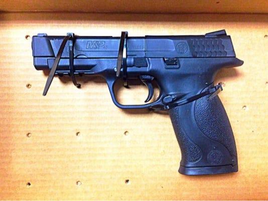 Sby police recovered gun.jpg