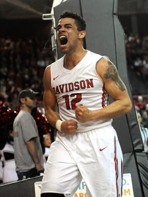Davidson Wildcats guard Jack Gibbs averages 25.3 points a game.