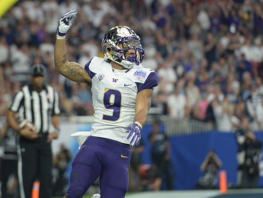 Myles Gaskin will almost certainly become Washington's