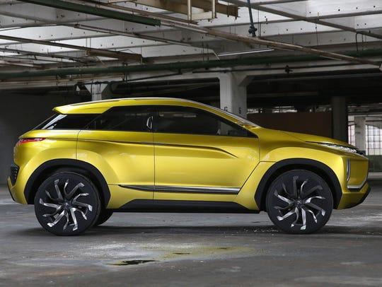 Mitsubishi eX concept electric crossover
