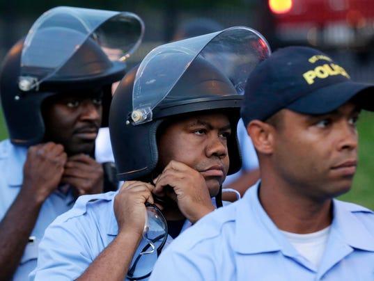 APTOPIX Police Shooting