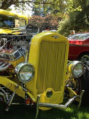 Sweet rod in the Car Show Cruise In during the 19th year of the Santiam Summerfest. The event, which takes over downtown Stayton with the car show featured in Pioneer Park, will be celebrated on July 25 this year.