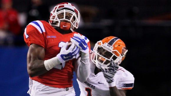 Wide receiver Carlos Henderson helped Louisiana Tech