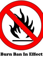 A burn ban is in effect in Rapides, Allen, LaSalle, Natchitoches and Winn parishes.