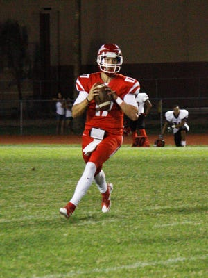 Mesa Community College quarterback Rathen Ricedorff has been named player of the week twice after consecutive outstanding games.