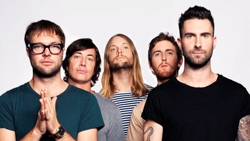 Maroon 5 has a March 5 date at the Blue Cross Area.