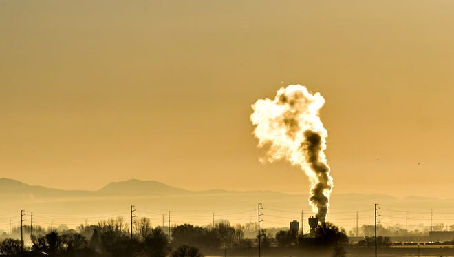 Toxic pollution being put into the air we breath