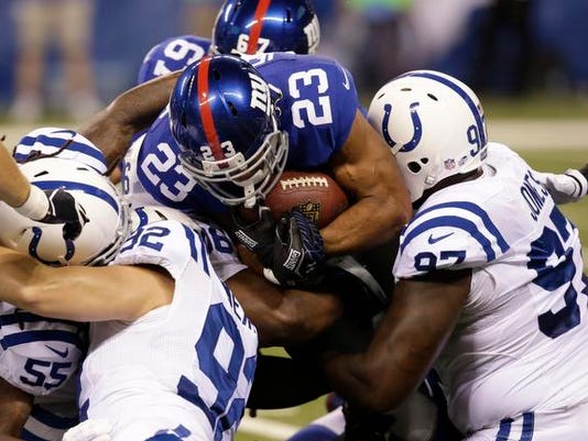Giants at Colts August 16