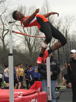 Mansfield Senior sophomore Angelo Grose owns a 23-foot long jump and has also cleared 6-4 in the high jump, a new event for him this spring.