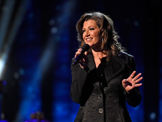 Amy Grant performs at the CMA Country Christmas at