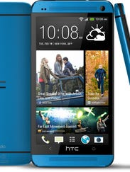 HTC One Metallic Blue (2)