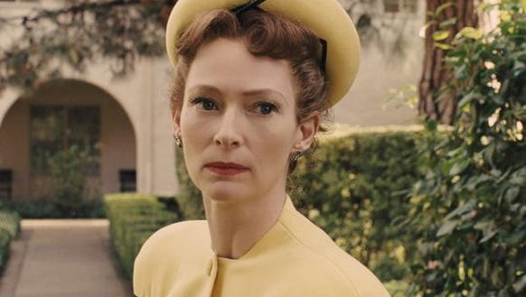 "Tilda Swinton plays Thora and Thessaly Thacker in ""Hail,"