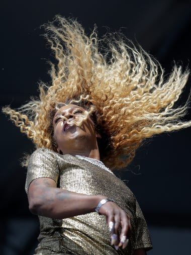 Big Freedia performs on the Congo Square Stage during