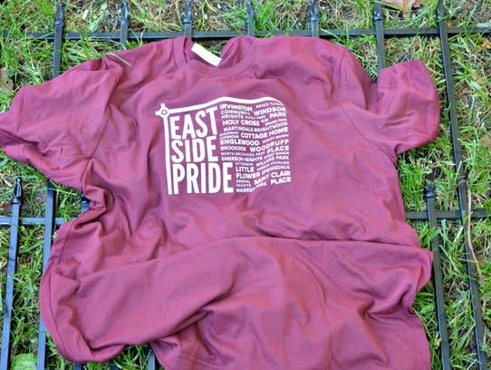 East Side Pride T-shirt from Handmade Promenade Holiday