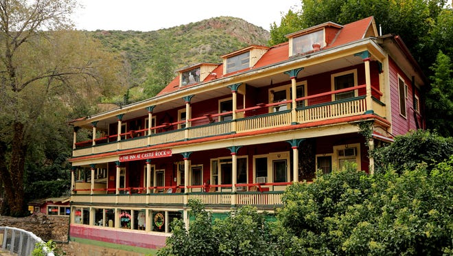 The Inn at Castle Rock on Tombstone Canyon Road was built in 1895 as a boarding house and still provides an interesting lodging experience.