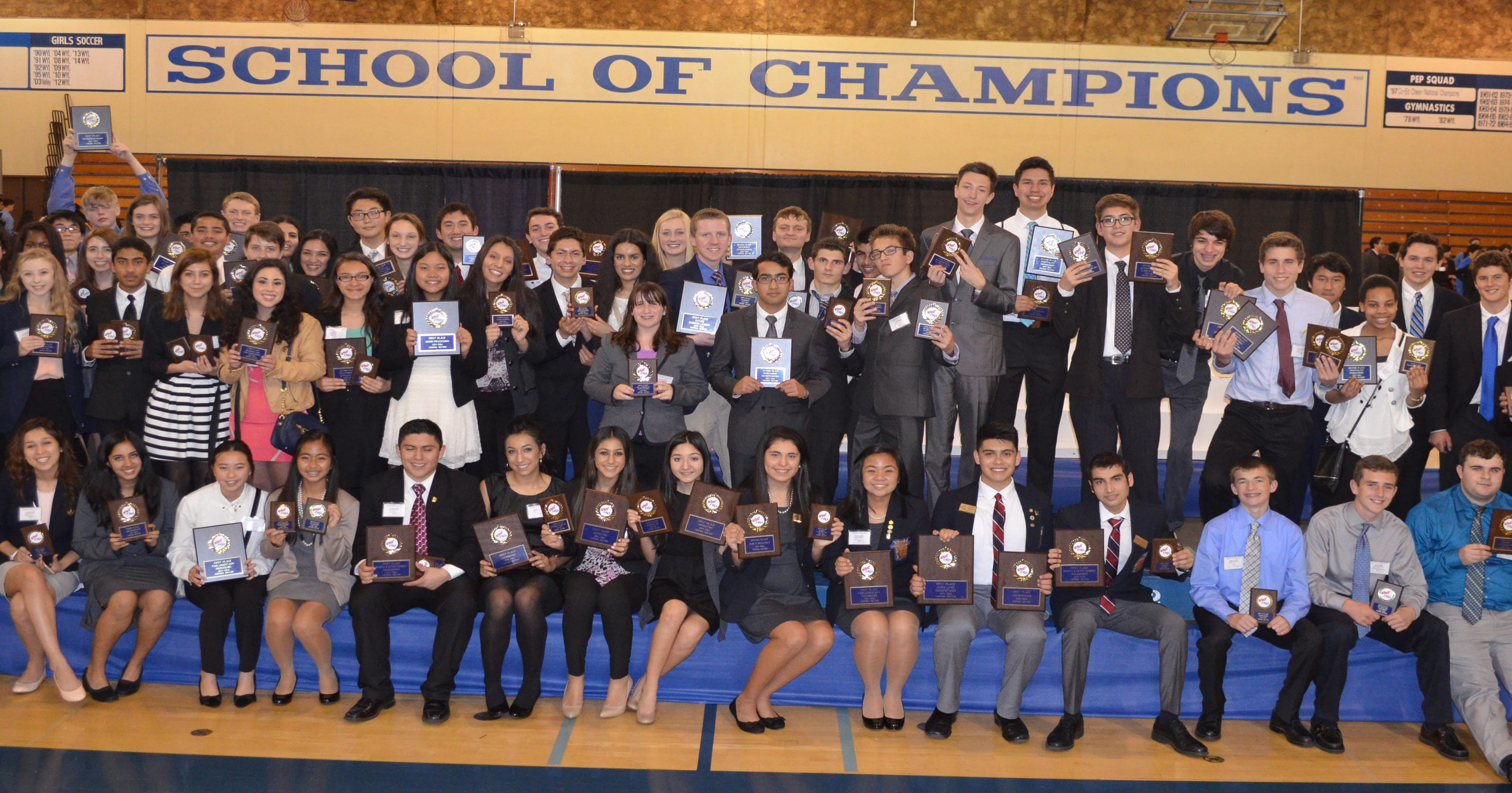 Visalia Students Dominate Regional Business Competition