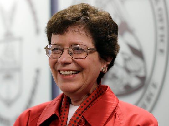 University of Wisconsin-Madison chancellor Rebecca