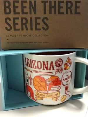 """Starbucks' Arizona mug as part of their """"Been There"""" cup series."""