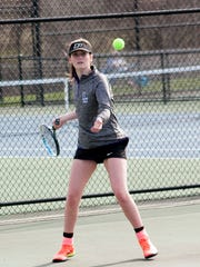 Lakeview #1 Single, Junior Megan Wendt plays Wednesday