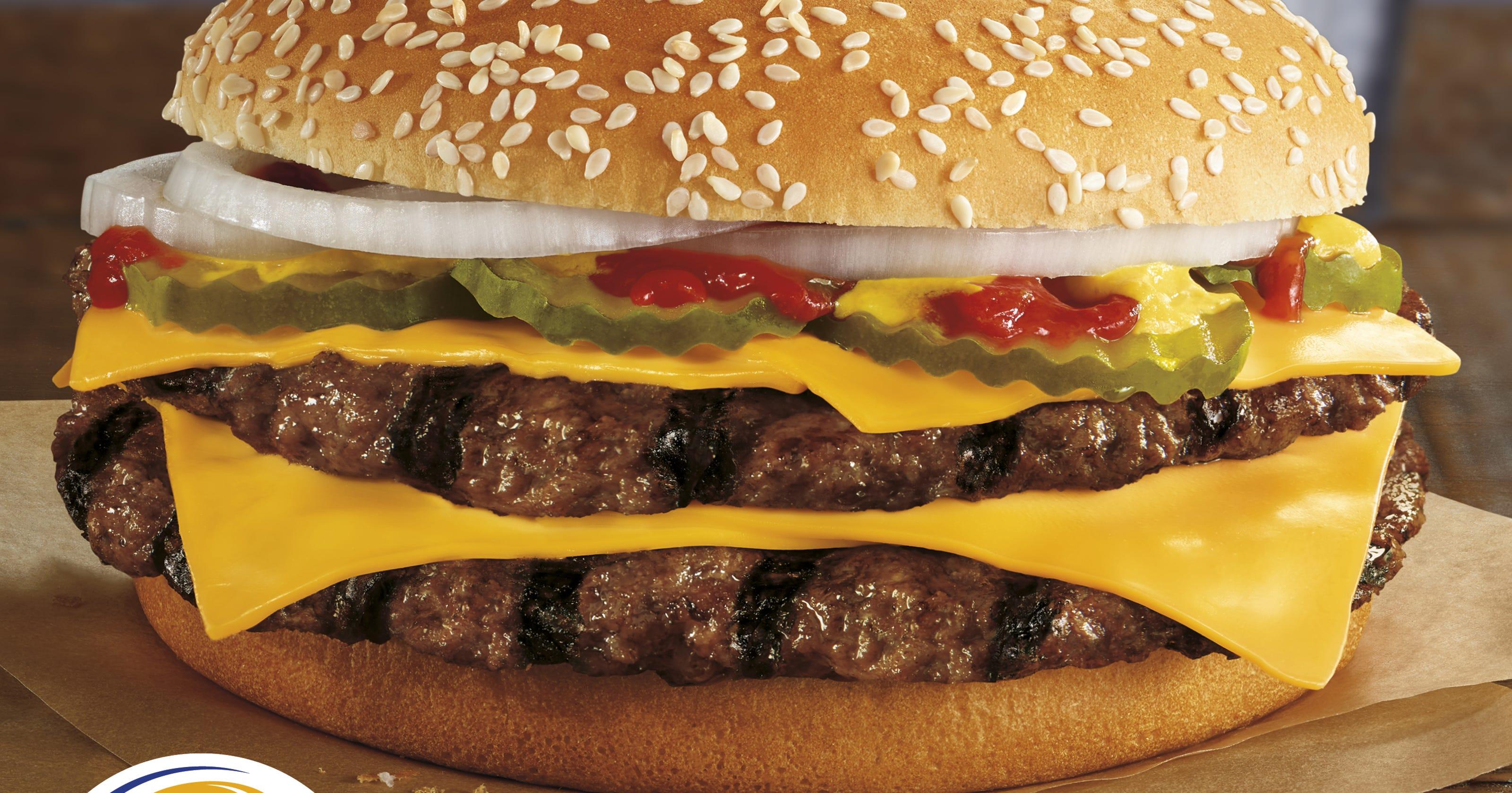 Burger King takes swat at McDonald's with new gut bomb burger