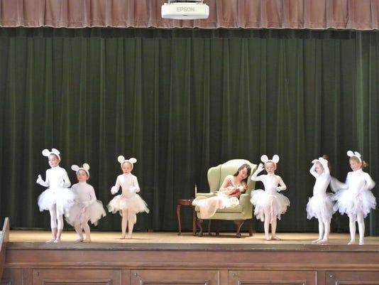 Scene from last year's Nutcracker performance
