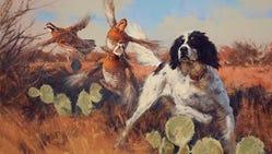 Eldridge Hardie's exhibit continues at the El Paso Museum of Art.