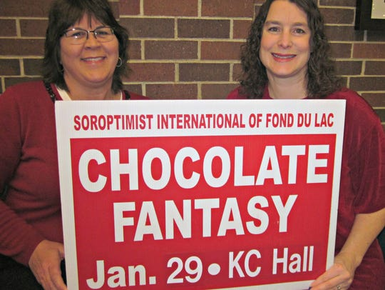 Kathy Shafer, left, and Linda Uselmann, right. are