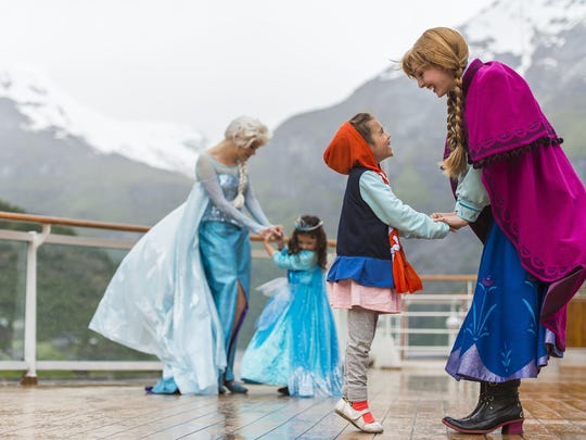 """Disney Cruise Line guests can immerse themselves in the world of """"Frozen."""""""
