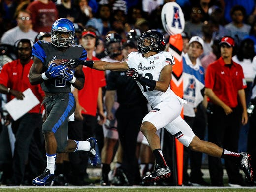 September 24, 2015 -  Memphis receiver Anthony Miller