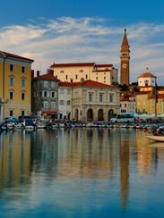 Piran is the only port on Slovenia's 29-mile coastline.
