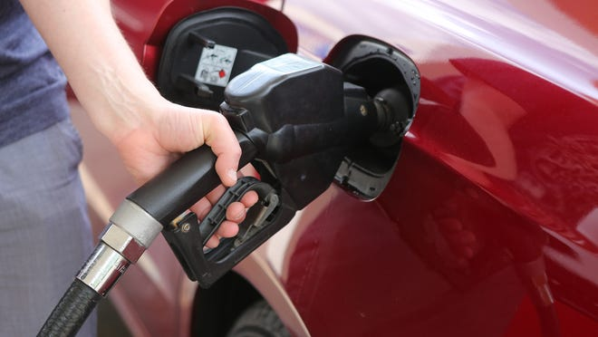 The average price of a gallon of gas at the pump is about $2.70 across the Cincinnati area in March 2021, according to a Gasbuddy release.