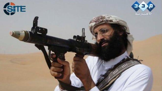 Video image of Anwar al-Awlaki, killed by a U.S. drone strike Sept. 30, 2011.