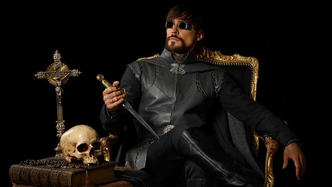 "Count Riario is one of the coolest characters on the Starz historical fantasy ""Da Vinci's Demons."""