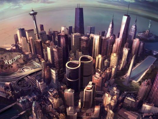 Foo Fighters' 'Sonic Highways' album cover