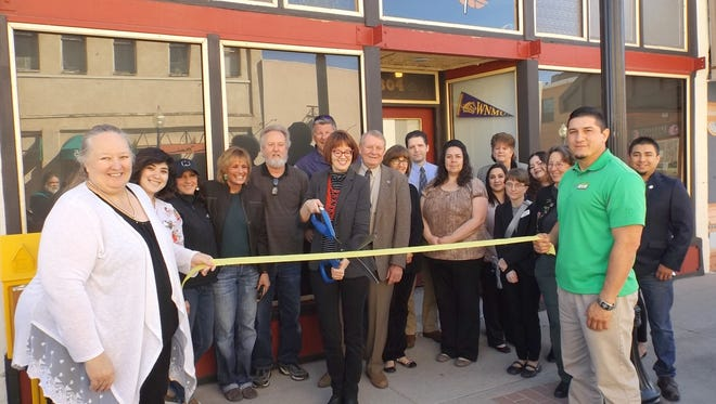 Revel holds its ribbon cutting ceremony downtown in Silver City.